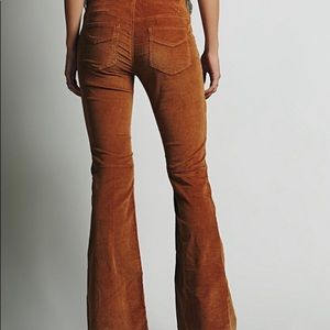 Free people corduroy pull on flare